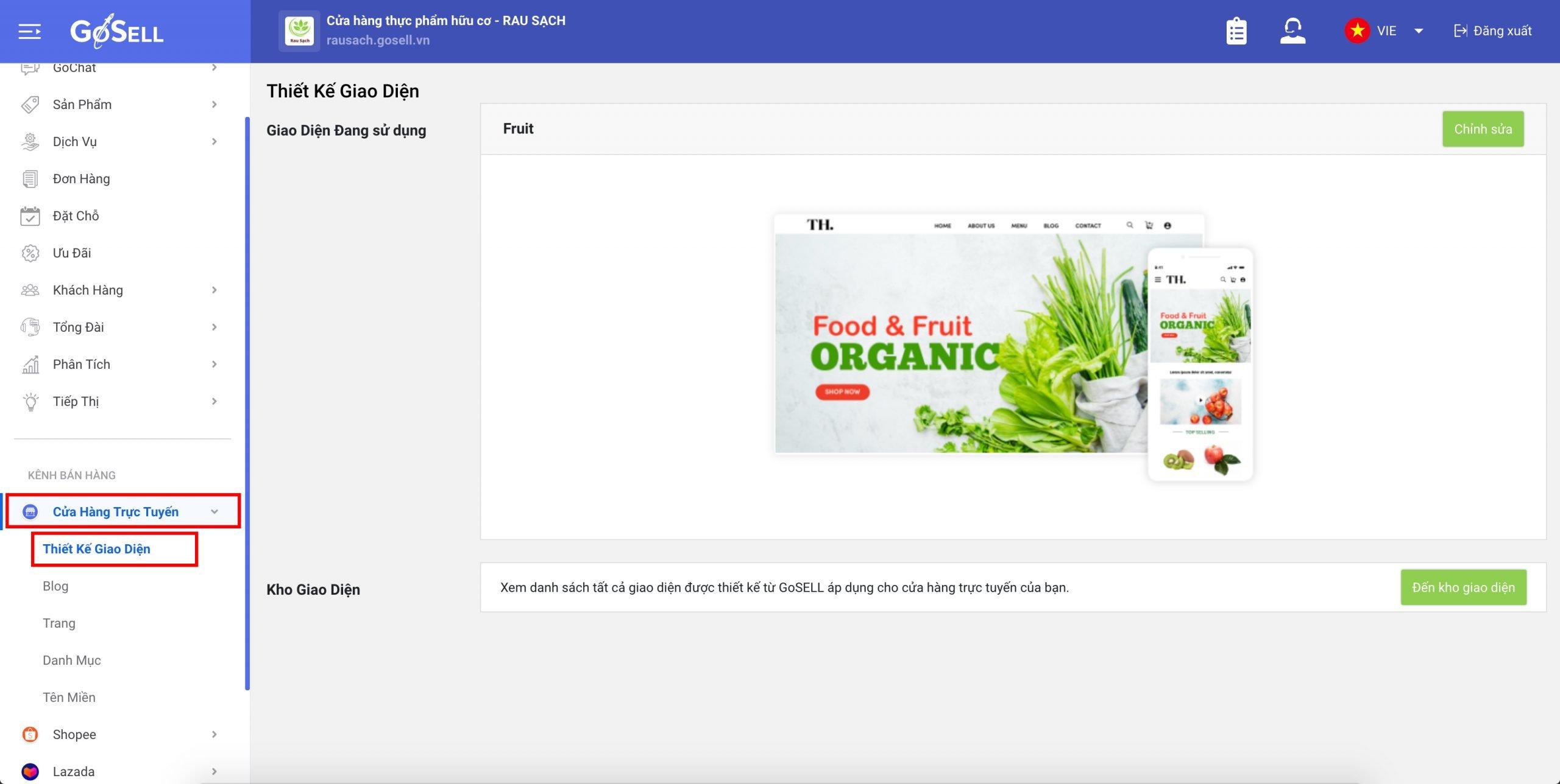 Cách tạo thanh menu hiển thị ở website